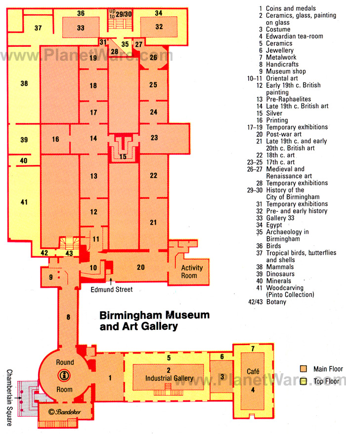 Birmingham Museum Amp Art Gallery Floor Plan Design